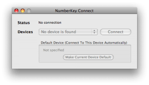 numberkey connect for mac 2.0.1
