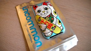 Uncommon iPhone Case: Peace Cat - 1