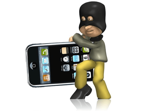 Unlucky-thief-of-iPhone