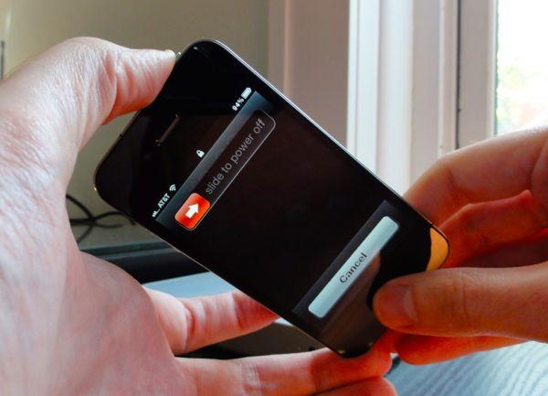 Как на айфоне сделать hard reset