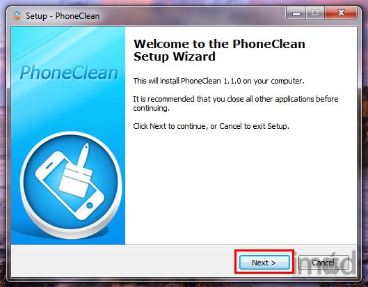 Программу Phoneclean 3