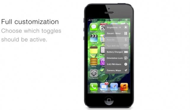 iOS 7 Concept: Toggle ...