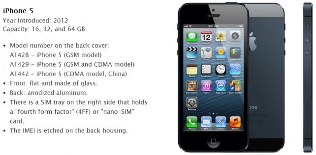iPhone5-Model