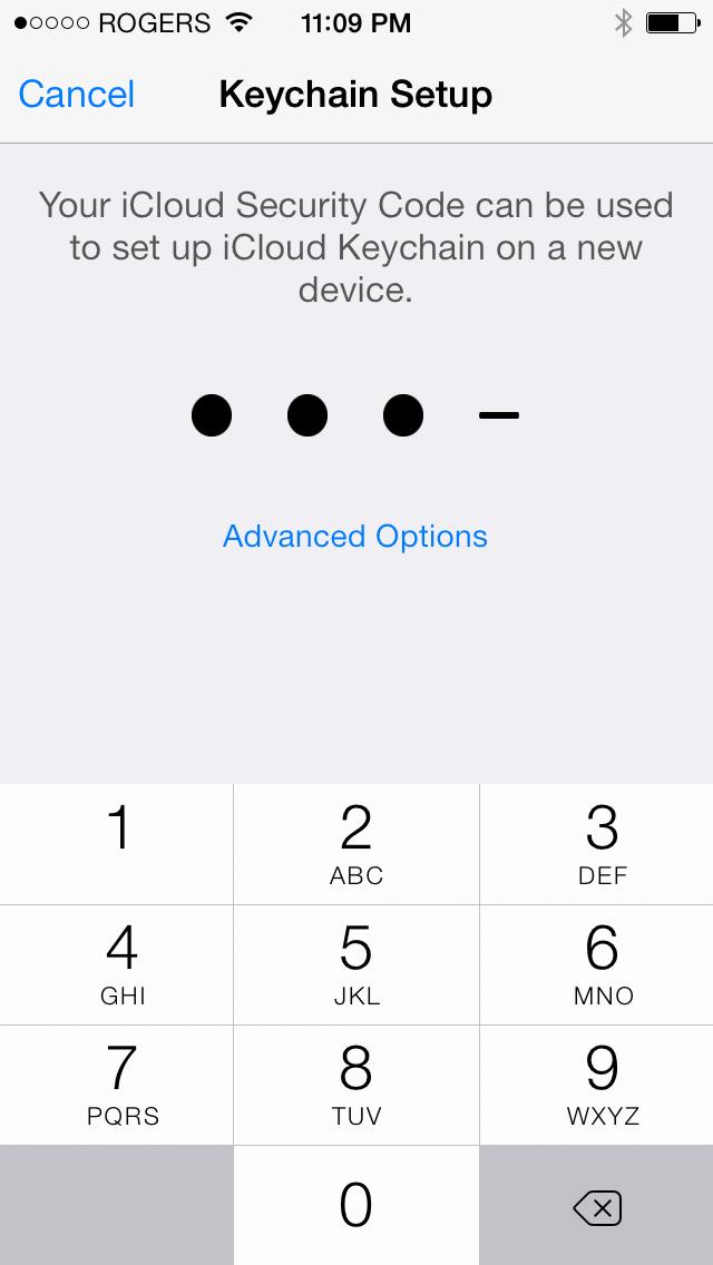 how to use apple icloud keychain