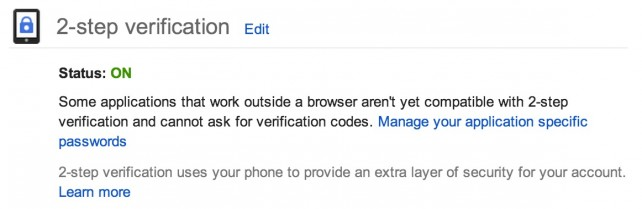 2-step verification