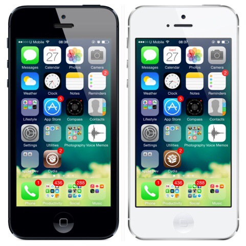 cydia icon ios7 before after
