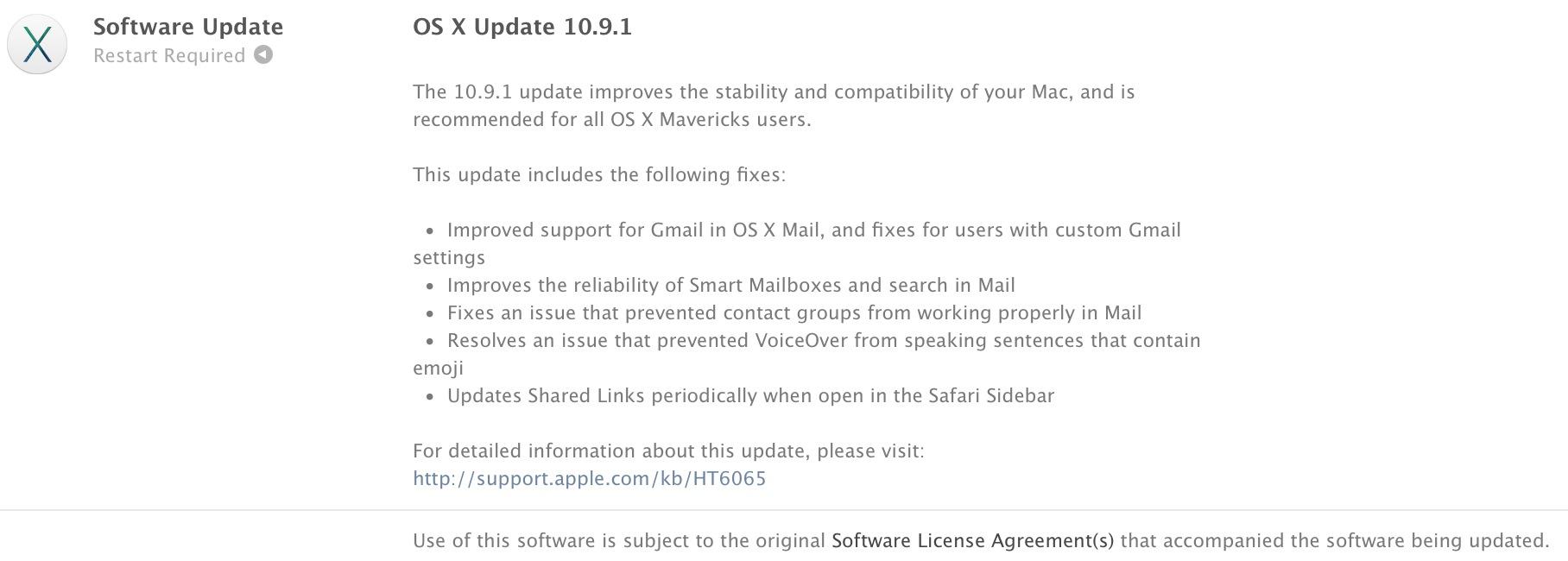 osx 10.9.1