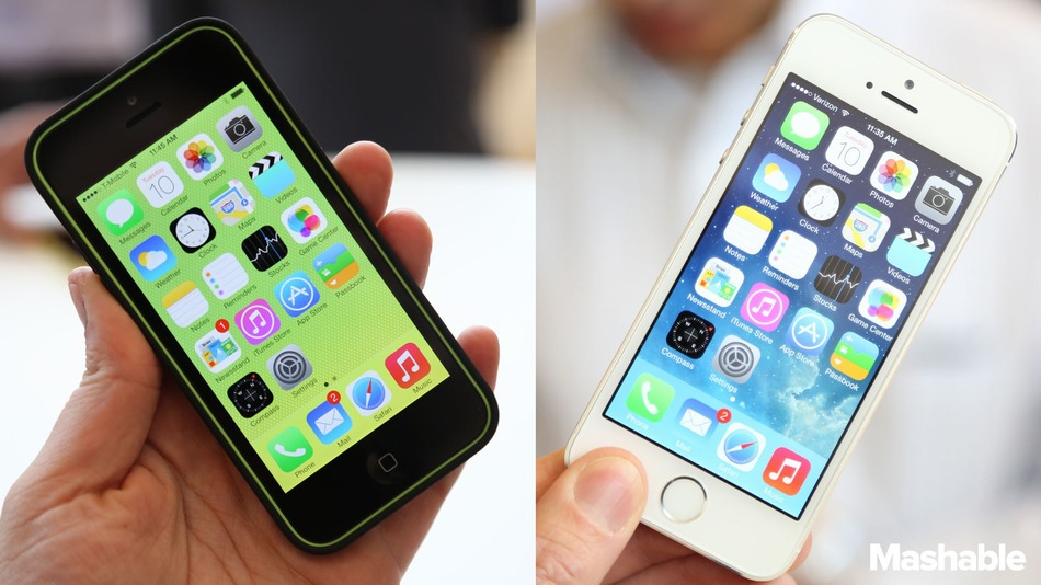 Apple-iphone-5c-vs-5S