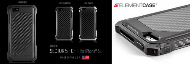 Elementcase-Sector5-Carbon-CF-iphone5s