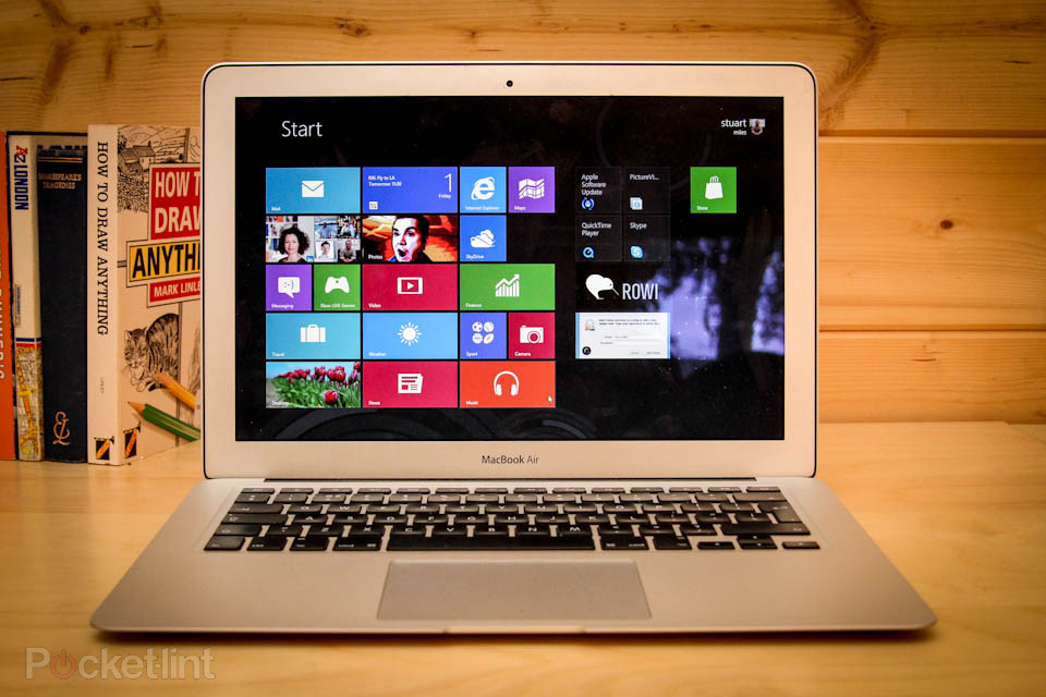 windows 8 on macbook air