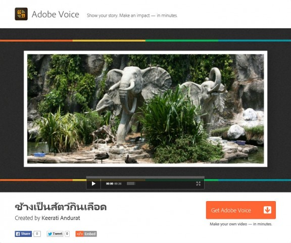 Adobe Voice - Final work
