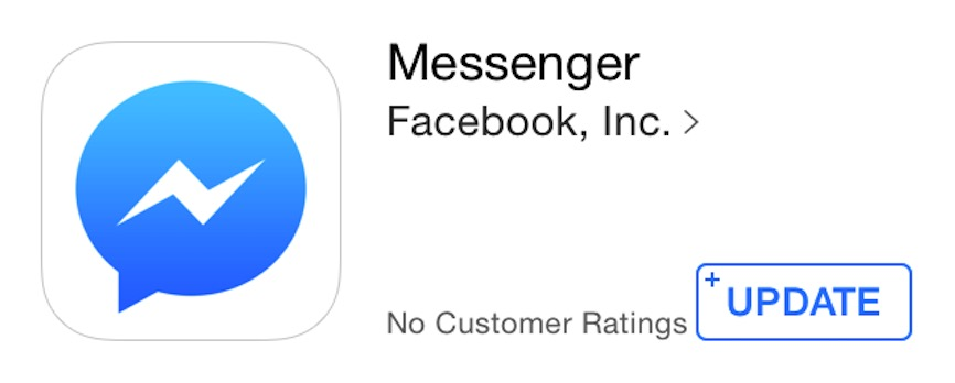 Facebook MSG update