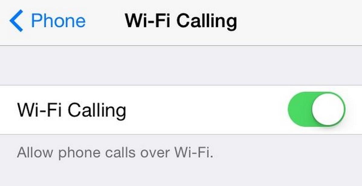 ios8b3 wifi calling