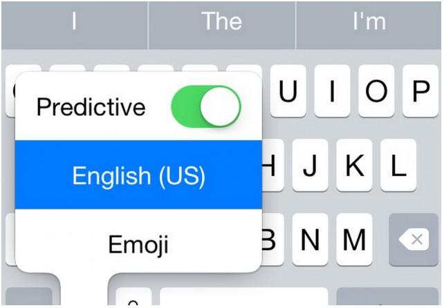predict keyboard