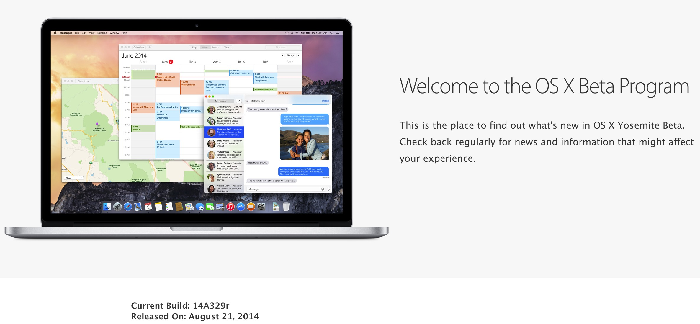 os x yosemite beta 2 released
