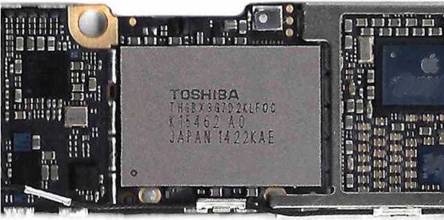 nand flash iphone6
