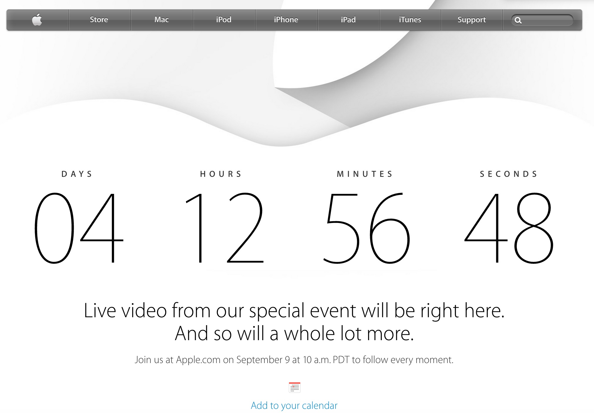 live stream for iphone 6 event