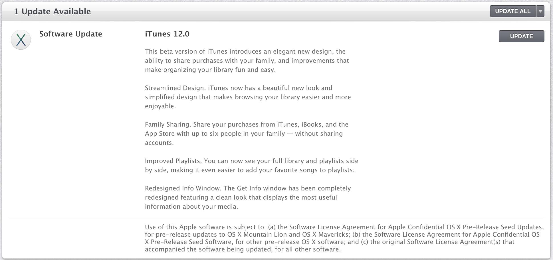 itunes 12 update