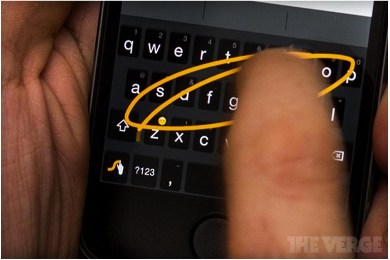 swype keyboard on ios8
