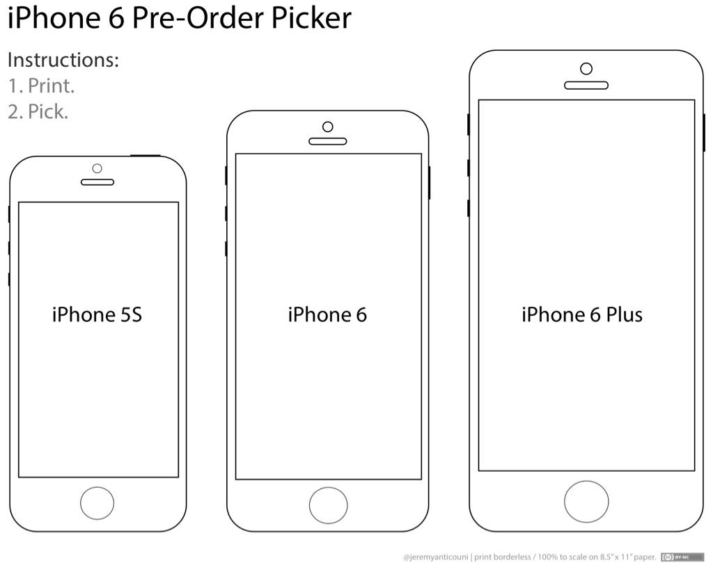 iPhone 6 - Print