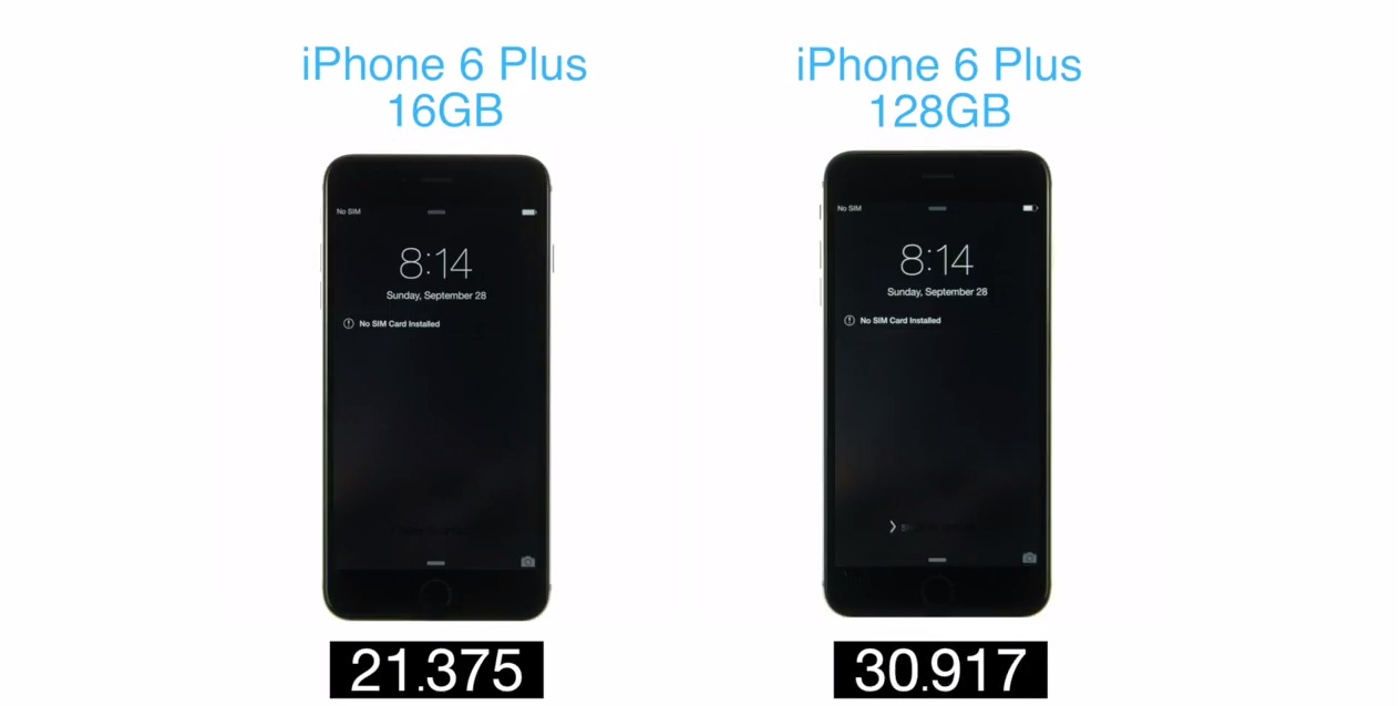 iphone 6 plus boot test