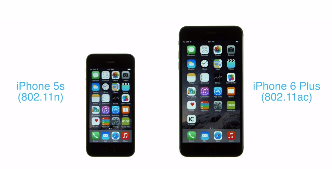 wifi test iphone 5s vs iphone 6