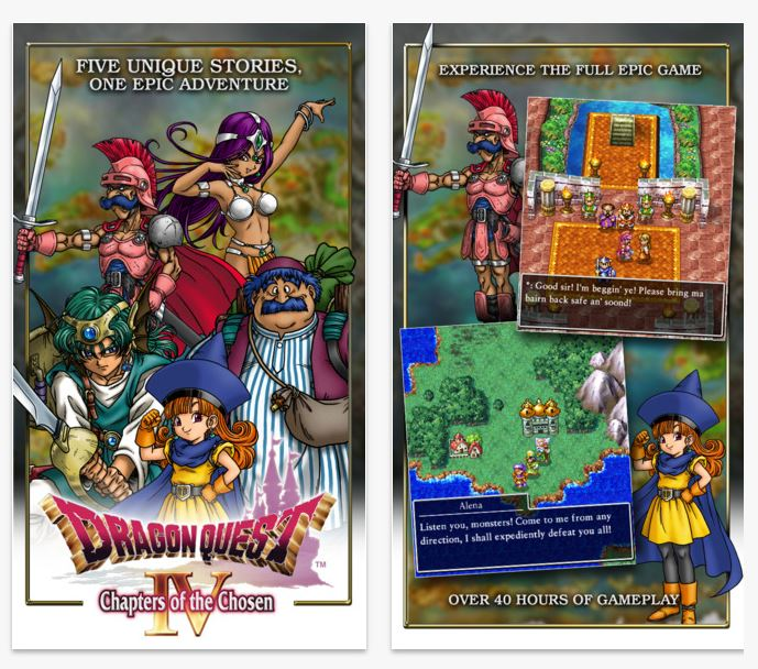 DRAGON QUEST IV Chapters of the Chosen