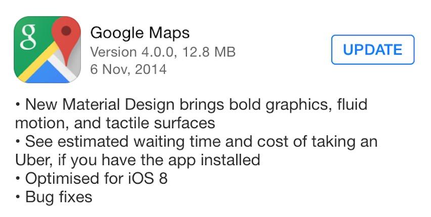google map 4.0