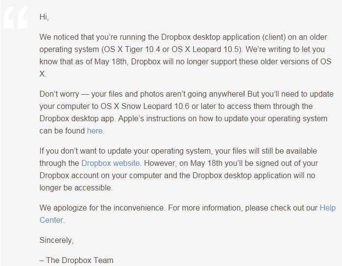 dropbox-not-support-osx105-lower