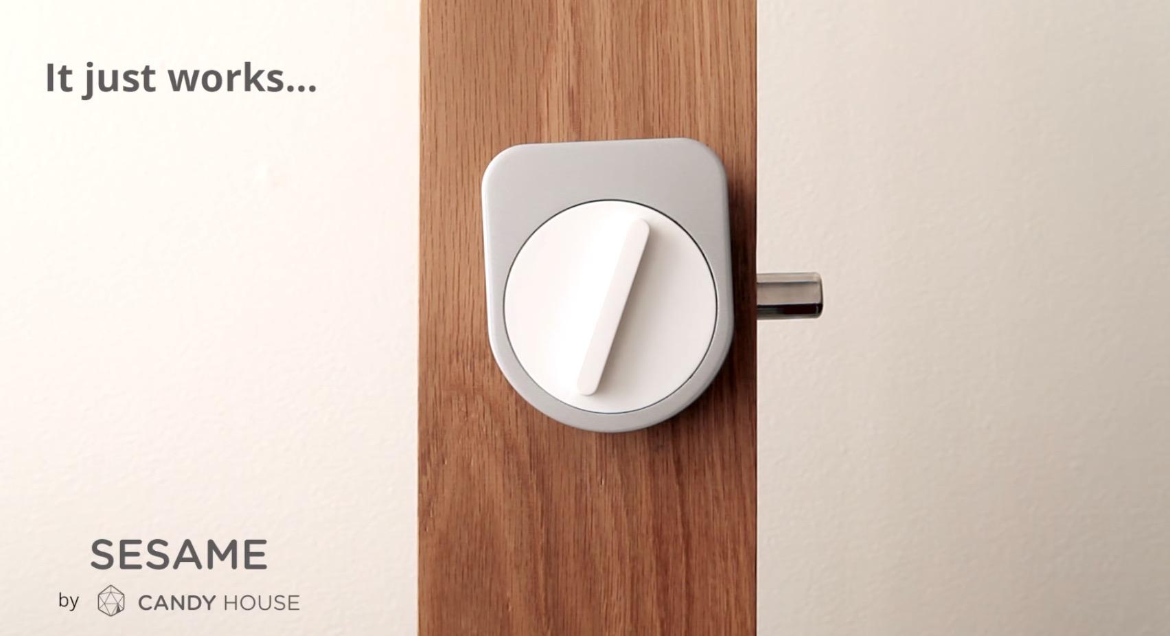 Sesame อุปกรณ์ช่วยคุณ ล็อค ปลดล็อค ประตูผ่าน Smartphone