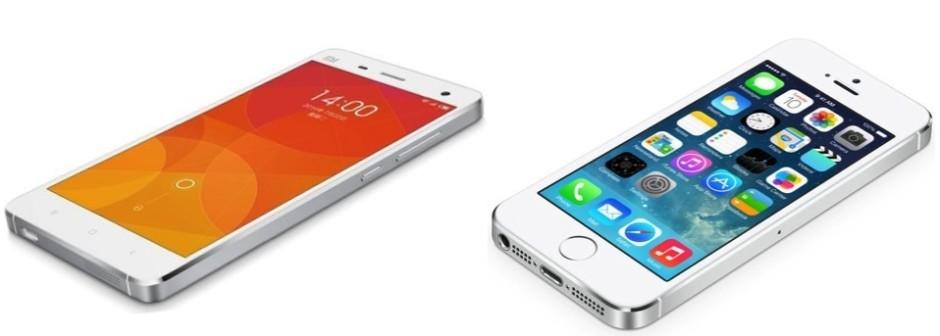 xiaomi-vs-iphone5s
