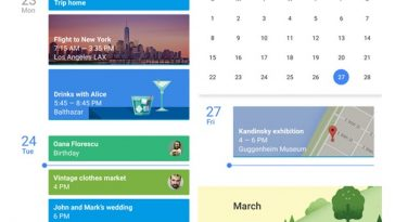 Google Calendar - 1