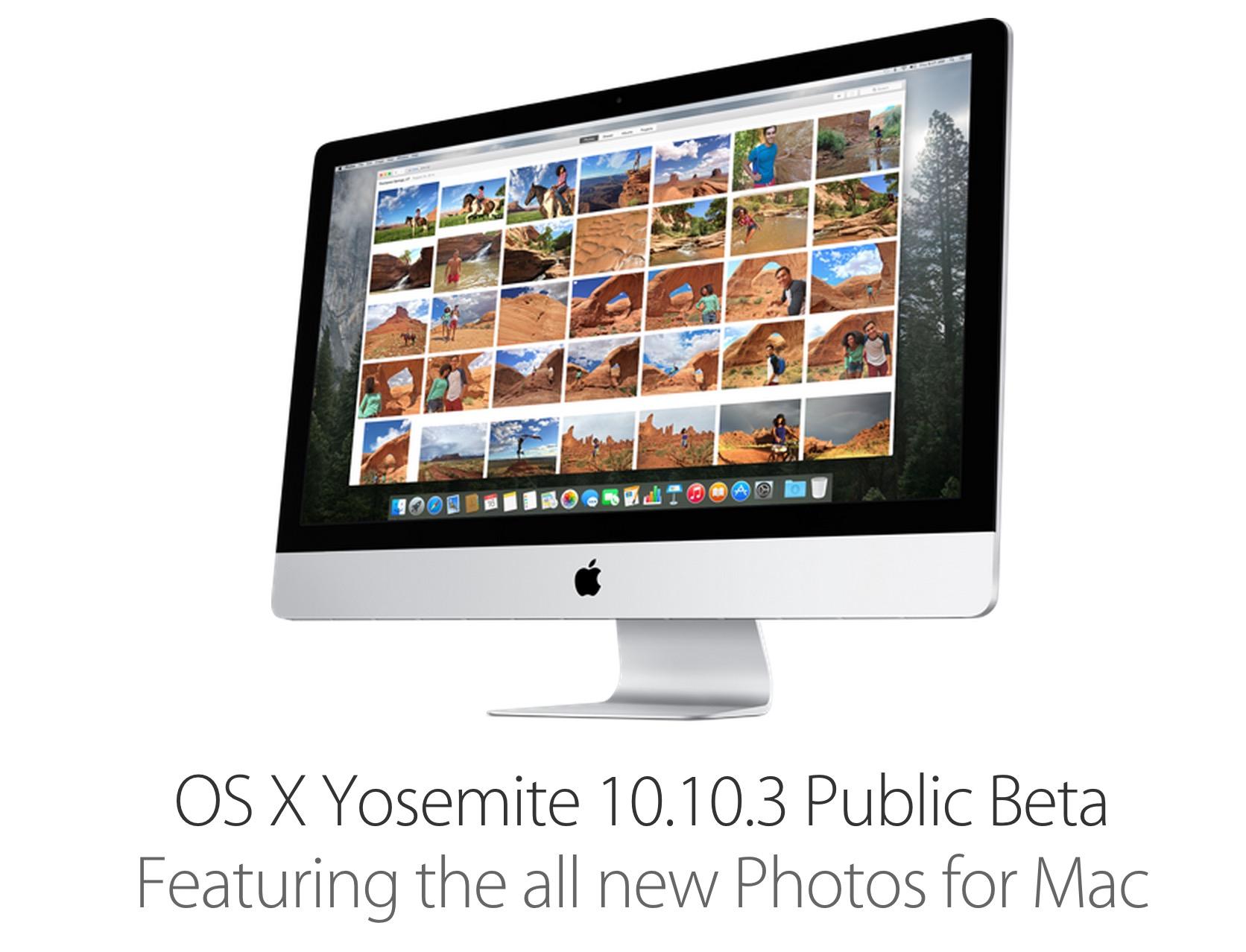 osx 10.10.3 public beta