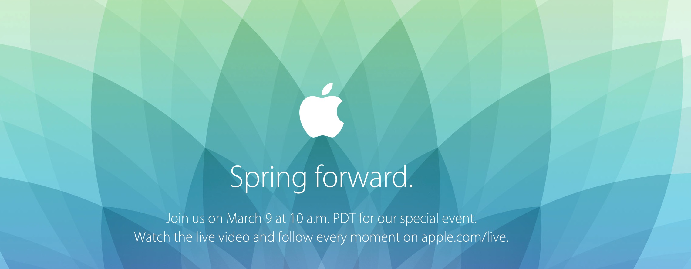 apple spring forward 2015