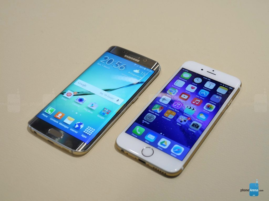 Samsung-Galaxy-S6-edge-vs-Apple-iPhone-6