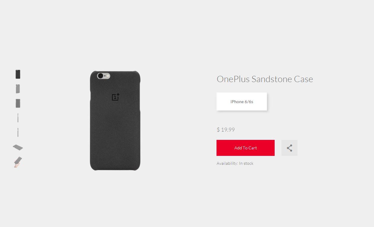 OnePlus Sandstone Case