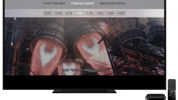 Apple-TV-device-playback