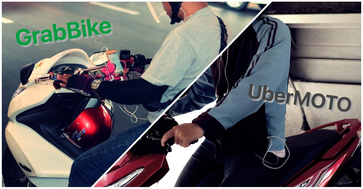 GrabBike vs UberMOTO