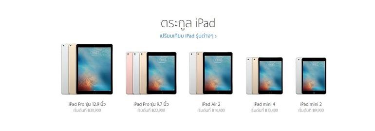 iPad Family Compare