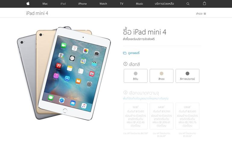 iPad mini 4 (22.03.16)