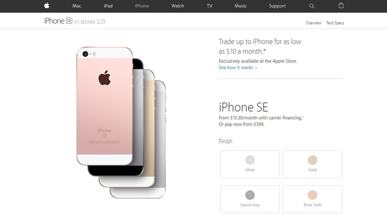 iPhone SE - Tier 1