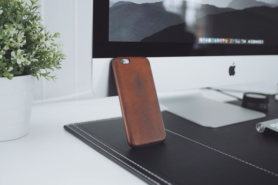 Saddle Brown Leather Case for iPhone - 8 Months Used (4)