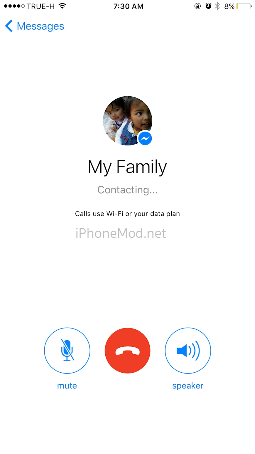 how to start a facebook group call