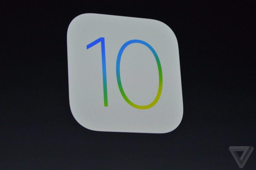 ios 10 มาแล้ว