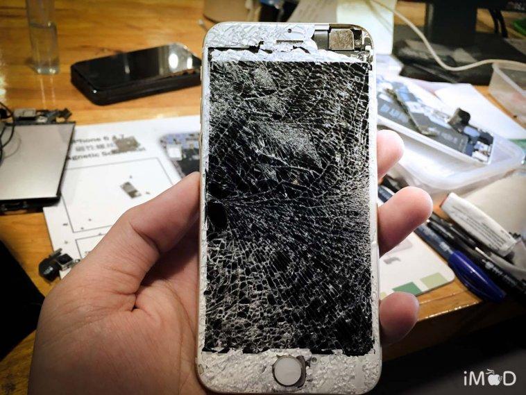 iPhone จอแตก