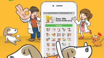 zozo-line-sticker