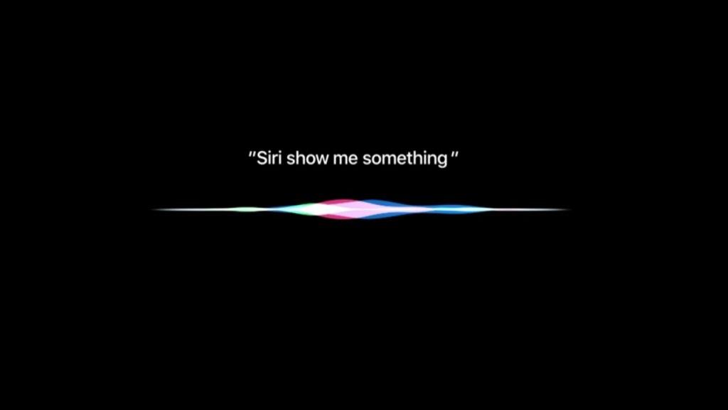 Siri-Showme Something