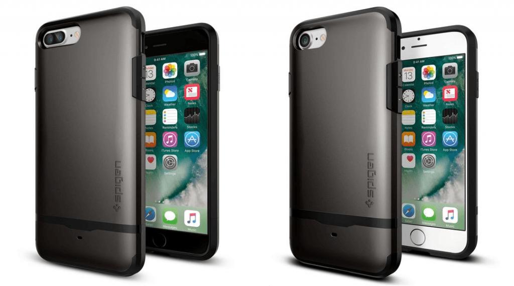 iPhone7+iPhone7PlusCase-Gunmetal- Spigen