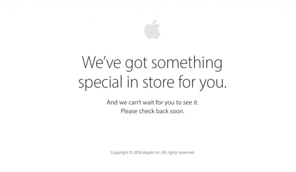 Apple store online down