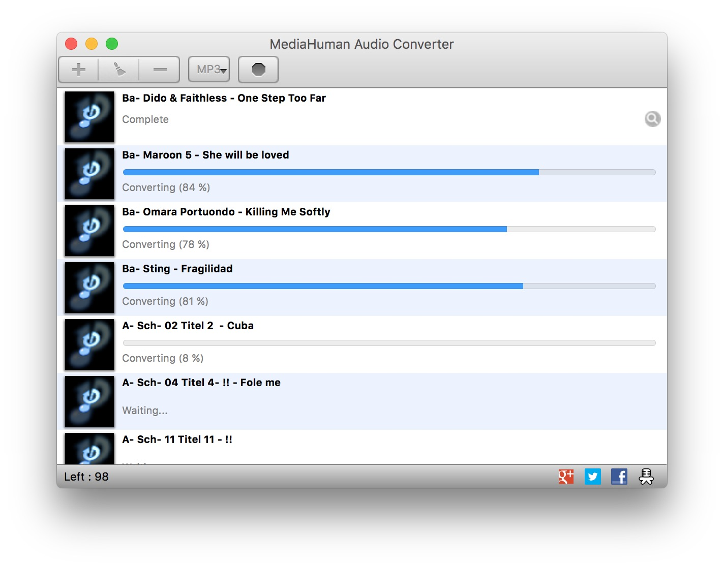 MediaHuman Audio Converter 2